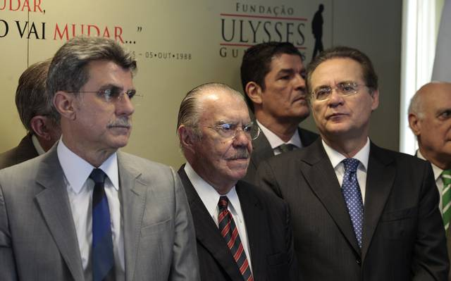 Jucá, Sarney e Renan