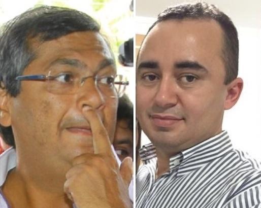 Flávio Dino e o médico Mariano.