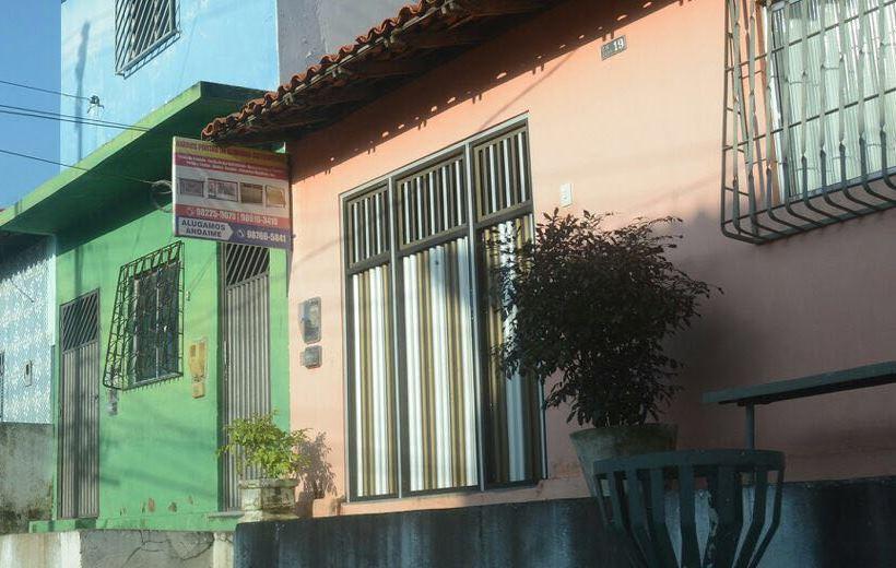 Casa de cor mamão, número 19, registrado no site da Receita Federal.