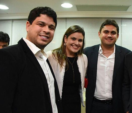 Rodolfo e Luanna, ambos sócios das empresas e cunhado e irmã do deputado federal Juscelino Filho, presidente estadual do DEM no MA.