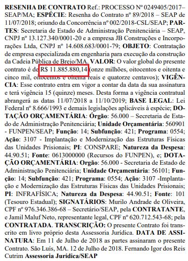"""Brejo vai """"ganhar"""" uma cadeia pública que custará R$ 11,9 Milhões aos cofres do Estado"""